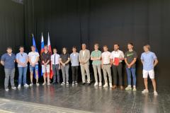 Peter Rojs, Kokol Aljaž, Franci Nino , David Fošt, Morović Tanej in Oblak David