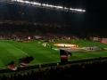 pogled na igrišče in 25.000 gledalcev