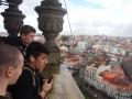 dijaki na stolpu