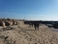 na plaži Atlantskega oceana